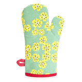 "Blue Q : Oven Mitt - ""Beautiful/Eat A Lot"""