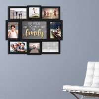 Family Photo Wall Collage - Annie's Hallmark Baldoria