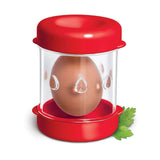 The Negg Hard-Boiled Egg Peeler in Red