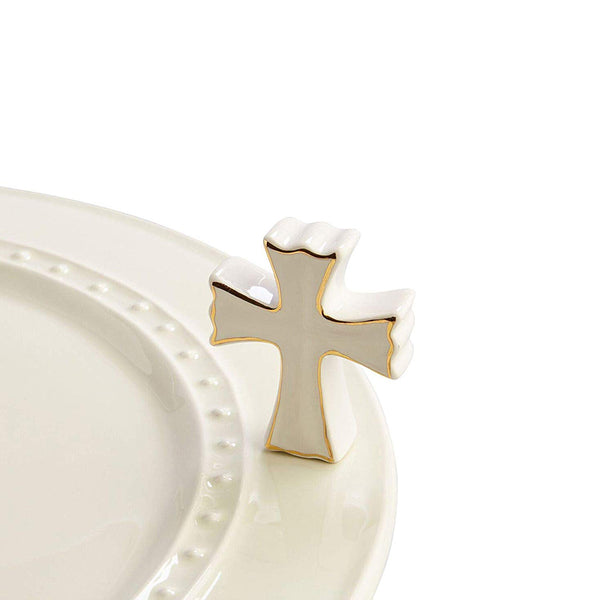 Nora Fleming : White Cross Mini