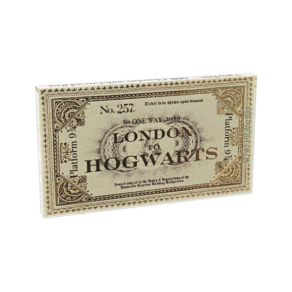 Jelly Belly : Harry Potter™ Platform 9 3/4 Ticket To Hogwarts Chocolate Bar - 1.5 oz