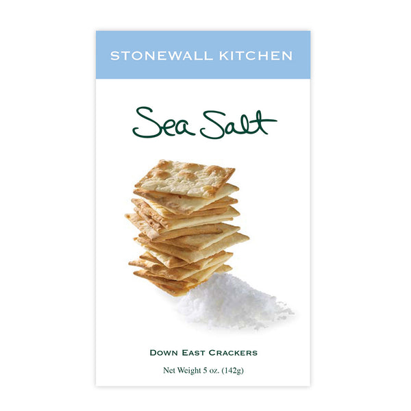 Stonewall Kitchen : Sea Salt Crackers