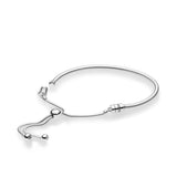 PANDORA : MOMENTS Sterling Silver Sliding Bracelet