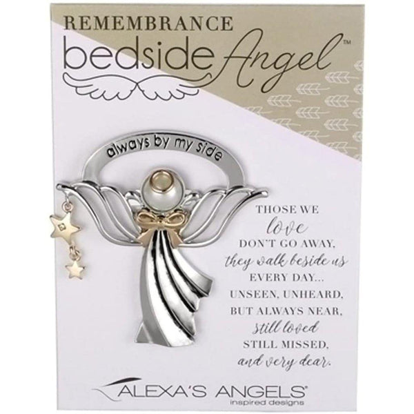 """Always By My Side"" Remembrance Bedside Angel"