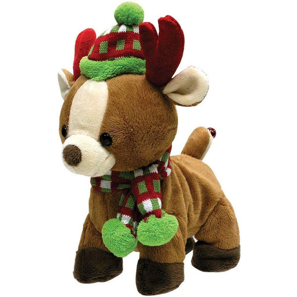 Cuddle Barn : Rock And Roll Rider Dancing Christmas Reindeer