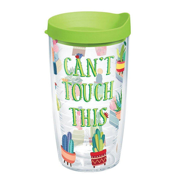 "Tervis : 16 oz Tumbler in ""Can't Touch This"" Cactus"