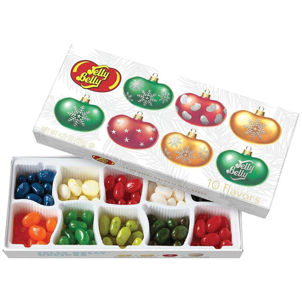Jelly Belly : Jelly Belly 10-Flavor Christmas Gift Box