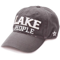Lake People - Dark Gray Adjustable Hat