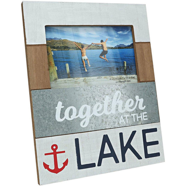 "Lake - 7.75"" x 10"" Frame (Holds 4"" x 6"" Photo)"