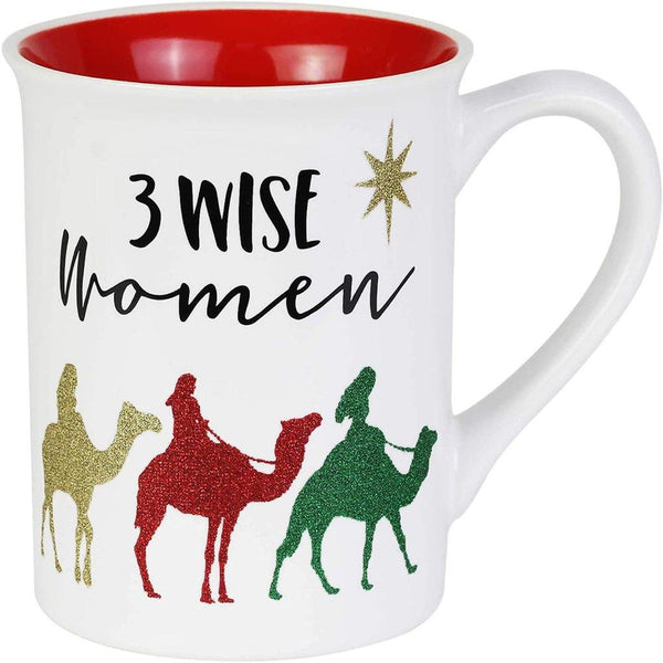 Three Wise Women Glitter Mug