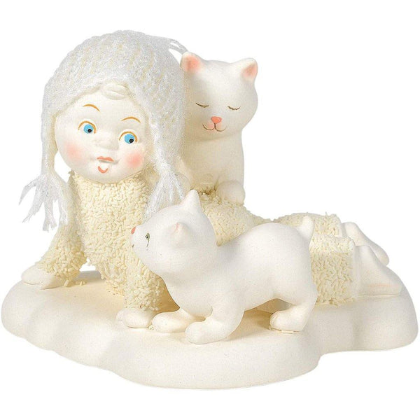 Department 56 : Snowbabies - Itty Bitty Kitty Crossing