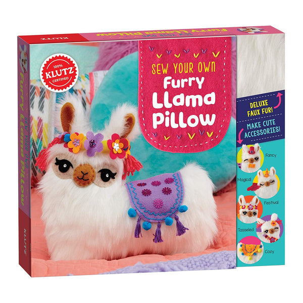 Klutz : Sew Your Own Furry Llama Pillow Kit