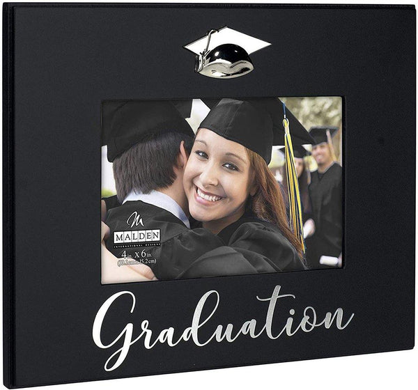 "Malden : ""Graduation"" Picture Frame, Black"