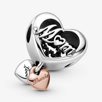 PANDORA : Love You Infinity Heart Dangle Charm - Annie's Hallmark & Gretchen's Hallmark, Sister Stores