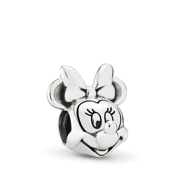 PANDORA : MOMENTS Disney Minnie Mouse Portrait Charm