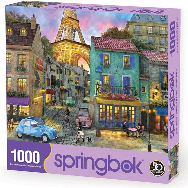 Springbok : Eiffel Magic 1000 Piece Jigsaw Puzzle