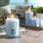 Beach Walk Classic Jar Candles (2 Asstd Sizes) - Annie's Hallmark Baldoria