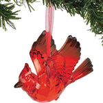 Acrylic Cardinal Ornament with Sentiment Card