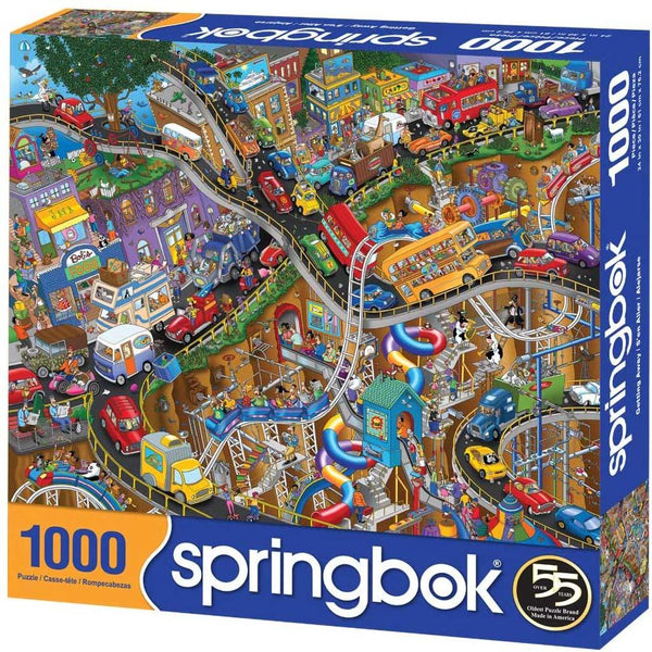 Springbok : Getting Away 1000 Piece Jigsaw Puzzle