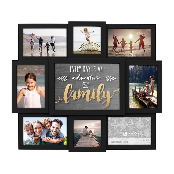 Family Photo Wall Collage
