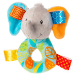 Taggies - Little Leaf the Elephant Rattle