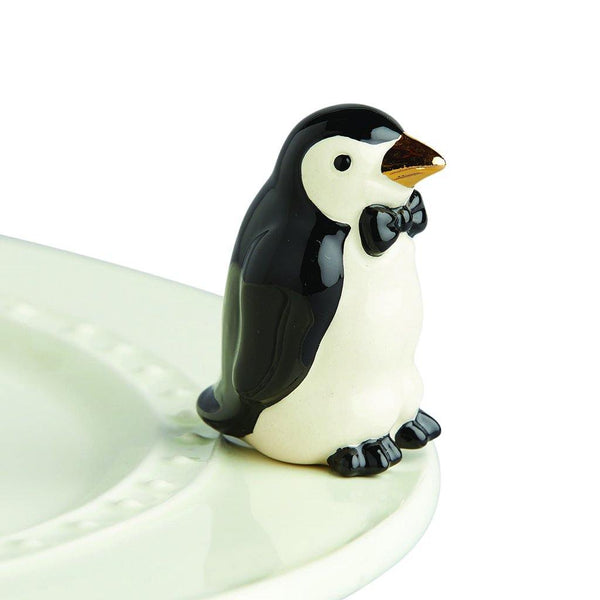 Nora Fleming : Tiny Tuxedo Penguin Mini