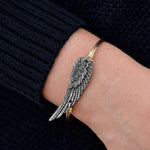 Angel Wing Bangles (2 Asstd Finishes) - Annie's Hallmark Baldoria
