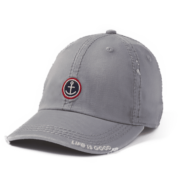 Life Is Good : Anchor Coin Sunwashed Chill Cap