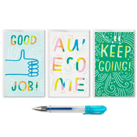 Hallmark : Assorted Mini Blank Note Cards With Pen, Pack of 18