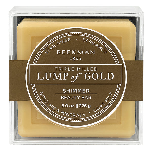 Beekman 1802 Lump of Gold Triple Milled Goat Milk Bar Soap - Annie's Hallmark Baldoria