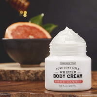 Beekman 1802 Honeyed Grapefruit Goat Milk Whipped Body Cream - Annie's Hallmark Baldoria