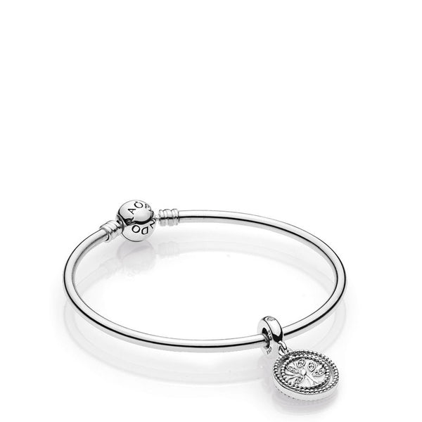 PANDORA : MOMENTS Family Tree Bangle Gift Set