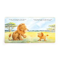 """The Very Brave Lion"" Board Book - Annie's Hallmark Baldoria"