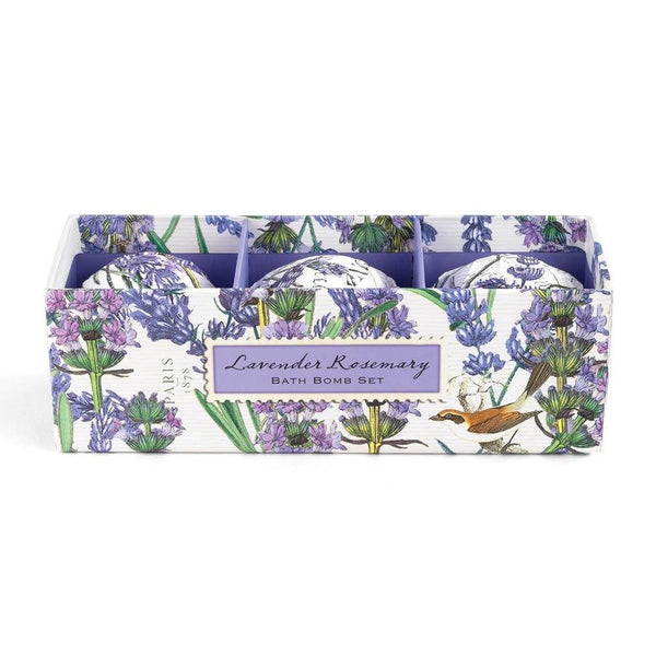 Michel Design Works : Lavender Rosemary Bath Bomb Set