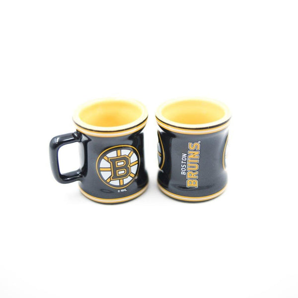 Boston Bruins Stripe Mini Mug Shot Glass