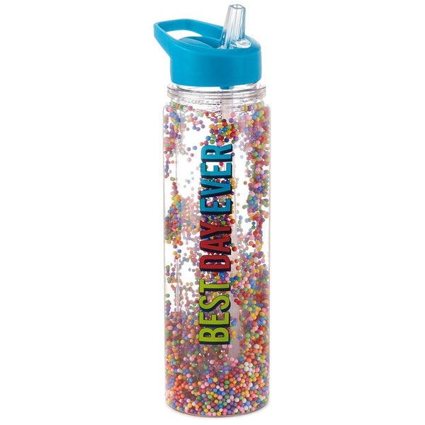 Hallmark : Best Day Ever Water Bottle, 16.5 oz.