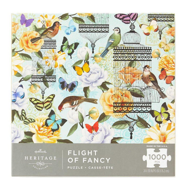 Hallmark : Flight of Fancy 1,000-Piece Jigsaw Puzzle - Annie's Hallmark & Gretchen's Hallmark, Sister Stores