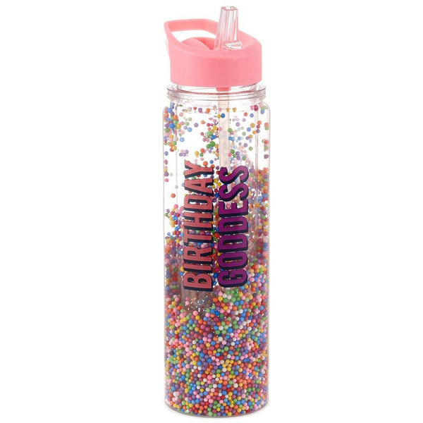 Hallmark : Birthday Goddess Water Bottle, 16.5 oz.