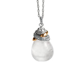 Brighton : Neptune's Rings Necklace in Crystal Quartz