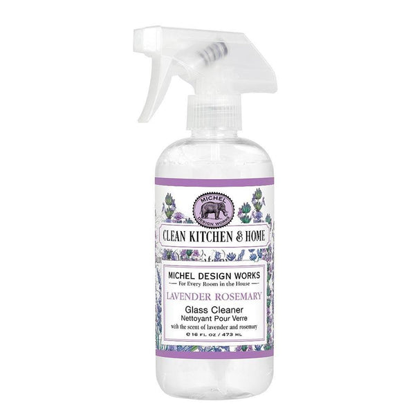 Michel Design Works : Lavender Rosemary Glass Cleaner