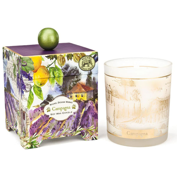 Campagna Soy Wax Candle