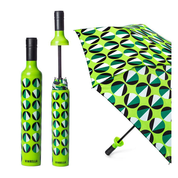Vinrella : Wine Bottle Umbrella in Circular Motion