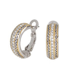 Briolette Pavé Hoop Earrings - Annie's Hallmark Baldoria