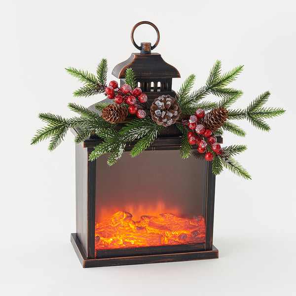 Fire Light Lantern Decor