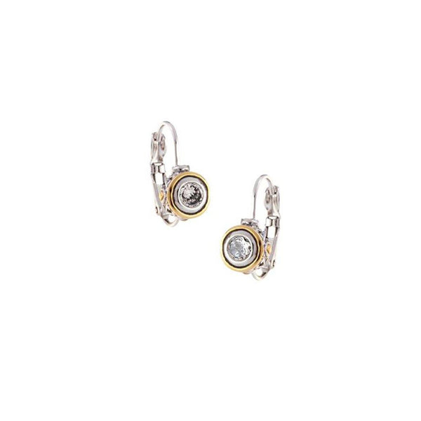 John Medeiros : Beijos 5mm CZ Bezel Earrings