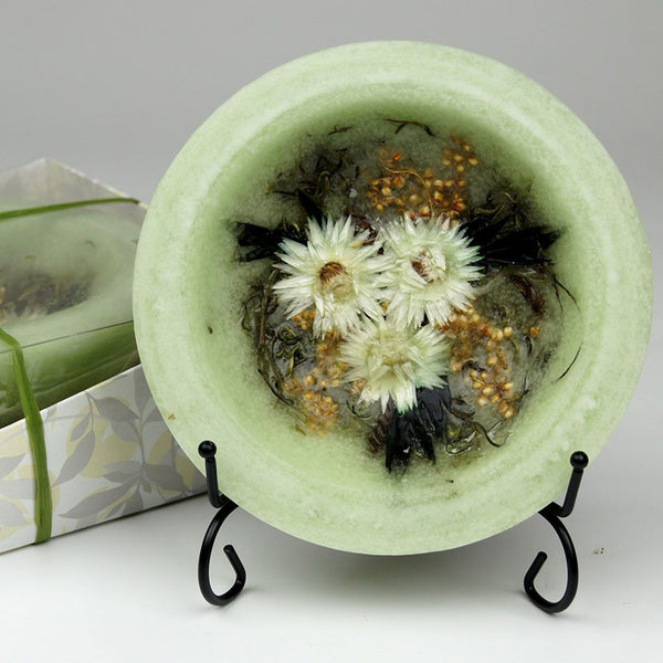 Wax Pottery Vessel in Sage