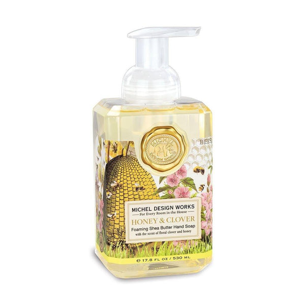 Michel Design Works : Honey & Clover Foaming Hand Soap