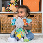 Taggies - Little Leaf the Elephant Plush
