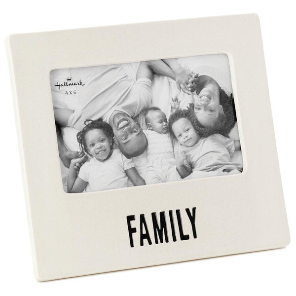 Hallmark : Family Ceramic Picture Frame, 4x6