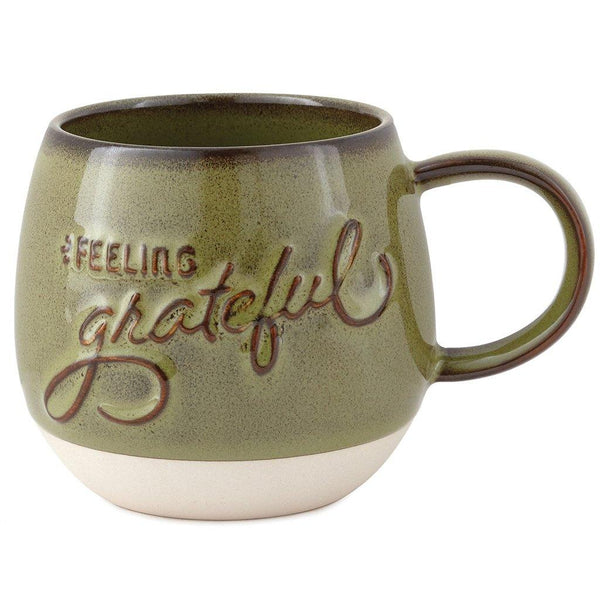 Hallmark : Feeling Grateful Glazed Mug, 17.5 oz.